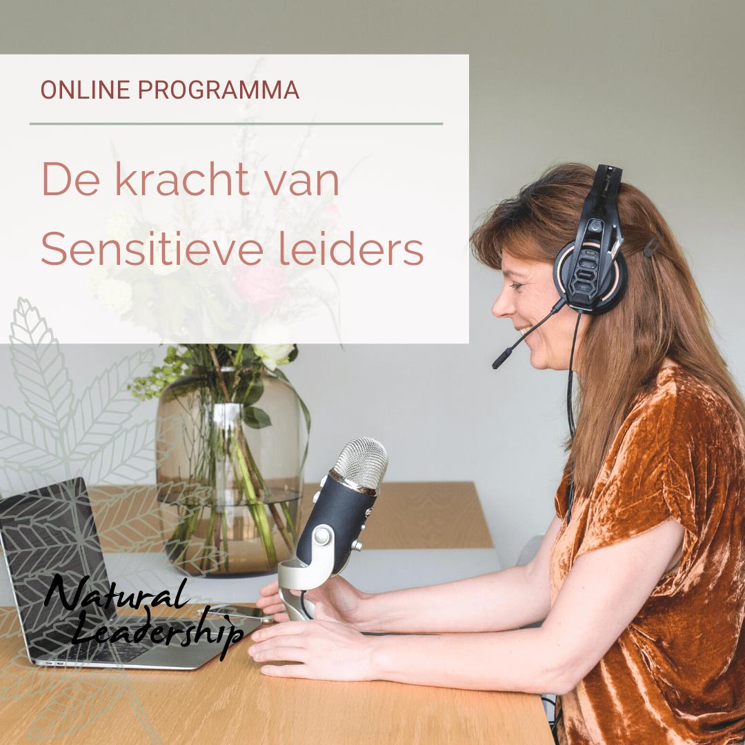 online programma de kracht van sensitieve leiders